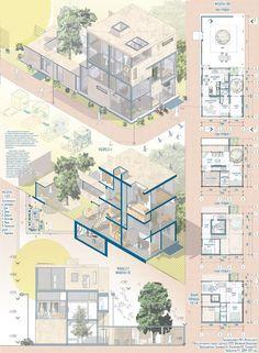 Vlad Shapovalov on Behance Sketchbook Architecture, Architecture Design, Black Architecture, Architecture Drawing Plan, Water Architecture, Architecture Drawing Art, Architecture Presentation Board, Cultural Architecture, Architecture Board