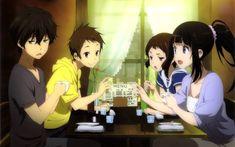 Anime - Hyouka - Oreki - Satoshi - Chitanda - Mayaka Wallpaper