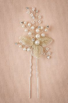 Would look lovely with my dress Goldleaf Hairpin
