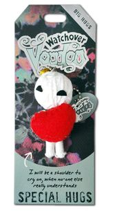 """Watchover Voodoo Doll Hey Sister Go Sister  3/"""" New Lucky Charm"""