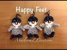 Rainbow Loom Penguin: Mumble from Happy Feet