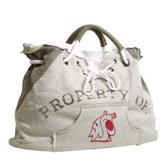 Washington State Cougars NCAA Property Of Hoodie Tote