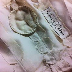 marij-94791199: Inside construction of a Dior gown, details ,Haute Couture ,1957