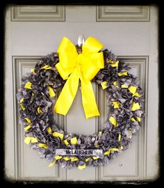 U.S. Army ACU Military Wreath can be personalized with last name or saying on Etsy, $70.00