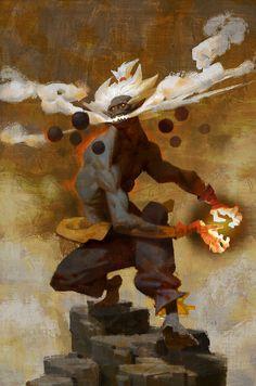 Gouki, Simba tian on ArtStation at https://www.artstation.com/artwork/xBYz4