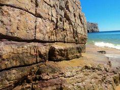 Colores de las rocas y del atlantico Playa de Beliche, Sagres, Portugal
