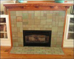 prairie style mantles   ... Seven Craftsman Fireplace Mantels That ...