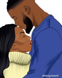 """BLACK COUPLES ART on Instagram: """"By @marycreaart 🔥🔥🔥😍😍😍 Follow @blackcouplesreal @blackcouplesart @africadopeart 📷 . . . . #illustration #colombia #world #art #arte #artist…"""" Black Couple Art, Black Couples, Couple Fun, Fun Illustration, Romantic Love, Cartoon, Artist, Instagram, Colombia"""