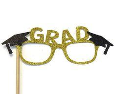Graduación foto Booth Props-graduación gafas con brillo-escoja