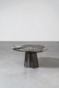 La nouvelle collection de Vincenzo De Cotiis a la Carpenters Workshop Gallery de New York : Vincenzo De Cotiis, table DC 1703, 2017.