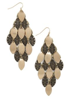 Tiers to Tonight Earrings, #ModCloth