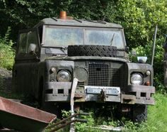 land rover series abandoned - Google Search
