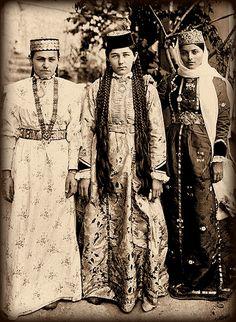 Tatars. Крымские татарки. 1900 г.