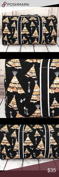 "TEEPEE Arrow Duffle Weekender Diaper Bag Tote NEW ❣️SEE MY CLOSET FOR MATCHING PIECES TO THIS PRINT❣️ Great for those weekend trips! Brand new fabulous print! Quilted Fabric Grosgrain Ribbon Zip Top Closure Fully Lined in Gingham with Inside Zip, Open, and Cell Phone Pockets Outside Zip Pocket Metal Feet on Bottom Double Strap with 12"" Drop 21"" Wide x 11"" Tall x 9.75"" Deep Boutique Bags Travel Bags"