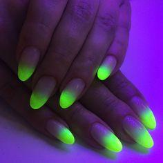 Neon ombre