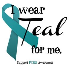 Polycystic Ovarian Syndrome (PCOS) . Hate having this...makes life miserable