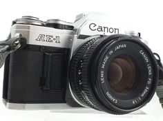 CANON AE-1 SLR Camera With Canon 50mm f/1.8 FD Mount - 230 C62