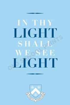Columbia University Motto Print