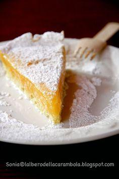 L'albero della carambola: La torta con crema al limone