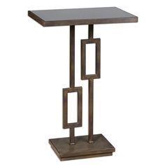 Uttermost Rubati Iron Side Table | Overstock.com Shopping - The Best Deals on Coffee, Sofa & End Tables