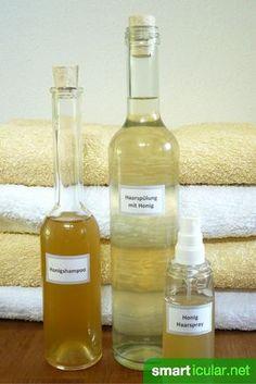 Honig beinhaltet viele wertvolle und gesunde Nährstoffe. Sie wirken nicht nur innerlich, sondern können auch deine Haare stärken und heilen.