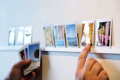Make a DIY Photo Ledge by Photojojo apartamenty