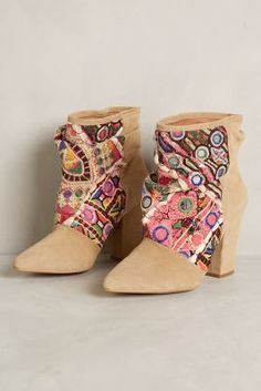 Howsty Nima Indhi #Booties #anthrofave #anthropologie