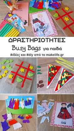 Creative Activities, Educational Activities, Activities For Kids, Diy And Crafts, Crafts For Kids, Busy Bags, Travel Kits, Invite Your Friends, Sensory Play
