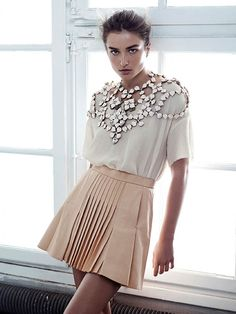 hm conscious spring 2014 lookbook18 See H&Ms Spring Conscious Exclusive Line Modeled by Andreea Diaconu
