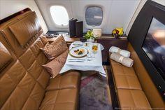 Рассказывает Марина Лысцева: «Недавно на выставке в Дубае удалось посетить А380 эмиратской авиакомпании Etihad Airways и удивиться увиденному. Зд...