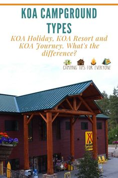 What can you expect at the different types of KOA campgrounds? We break it down for you- KOA Journey, KOA Holiday & KOA Resorts. Rv Camping Tips, Camping For Beginners, Tent Camping, Backpacking Meals, Ultralight Backpacking, Rv Tips, Hiking Tips, Hiking Gear, Family Camping