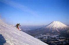 Skiing in Niseko, Hokkaido Japan