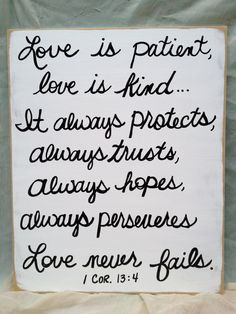 White and Black Love Never Fails Scripture by SassySouthernCharm, $22.00