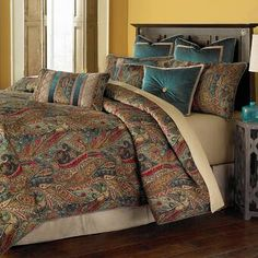 Luxury Bedding Sets, Canopy Bedroom, Canopy Bedroom Sets, Bed Design, Home, Luxury Bedding, King Comforter Sets, Luxurious Bedrooms, Luxury Comforter Sets