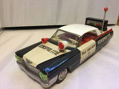 Repro Box Japan Ford Mustang Police Car Spielzeug