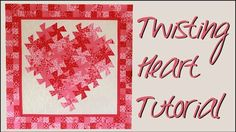 Love Is In The Air With This Twisting Pinwheel Heart Wall Hanging