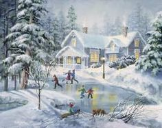 These high quality christmas paintings and christmas artwork are perfect for your home! Choose from a custom canvas and frame finish for your artwork. Christmas Artwork, Christmas Paintings, Christmas Posters, Christmas Pictures, Christmas Scenes, Winter Christmas, Vintage Christmas, Vintage Winter, Christmas Stuff
