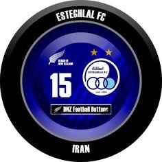 DNZ Football Buttons: Esteghlal FC                                                                                                                                                                                 Mais