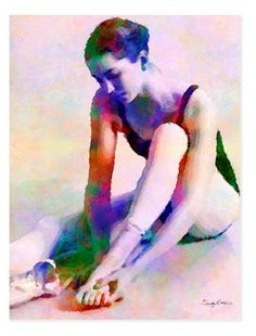 Shop Ballerina Dancer Rehearsal Taking 5 Postcard created by Sandy_Richter. Days Out, Ballet Dance, Wedding Colors, Ballerina, Art Photography, Dancer, Watercolor, Fine Art, Stationary