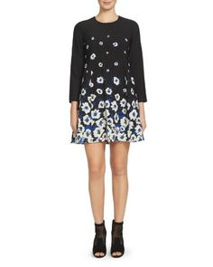 Cynthia Steffe Floral Print Swing Dress $138.00 Floaty florals cascade down the swingy skirt of Cynthia Steffe's artful dress, making it a fresh and flattering pick for springtime.