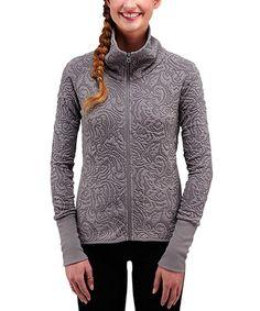 Look at this #zulilyfind! Sidewalk Tesselia Zip-Up Jacket - Women #zulilyfinds