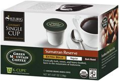 Green Mountain Organic Sumatran Extra Bold K-cup for Keurig Brewers, 12-Count Boxes (Pack of 6) - http://thecoffeepod.biz/green-mountain-organic-sumatran-extra-bold-k-cup-for-keurig-brewers-12-count-boxes-pack-of-6/