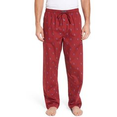 Men's Polo Ralph Lauren Classic Lounge Pants ($42) ❤ liked on Polyvore featuring men's fashion, men's clothing, red sienna, men's apparel, polo ralph lauren mens clothing, mens clothing and polo mens clothing