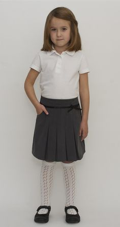 Organic School Uniform - Pleated Skirt (http://www.bynature.co.uk/organic-school-uniform-pleated-skirt/)