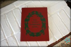 Christmas Memories Book : One of my favorite things to do is record our family's holiday memories year after year in this book.