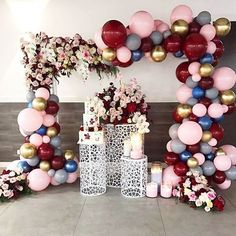 Balloon Arch or Banner Lila Party, Festa Party, Balloon Backdrop, Balloon Garland, Balloon Balloon, Party Garland, Birthday Decorations, Wedding Decorations, Wedding Scene