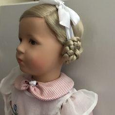 HILDEGARD Kathe Kruse Doll 52H - Reindeer Hair in Dolls & Bears, Dolls, By Brand, Company, Character, Kathe Kruse   eBay