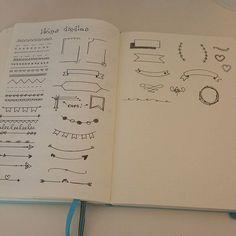 Une nouvelle page dans mon bujo  #bulletjournal #doodle