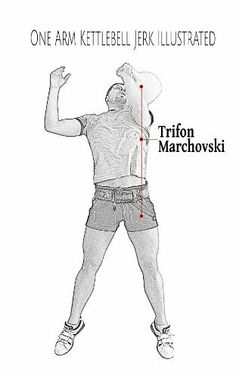 One Arm Kettlebell Jerk Illustrated by Trifon Marchovski, http://www.amazon.com/dp/B00JS59XYW/ref=cm_sw_r_pi_dp_0wsvtb14MF58C