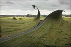 Surreal Distorted Reality by Photographer E Johansson | http://www.yellowtrace.com.au/surreal-distorted-reality-by-erik-johansson/